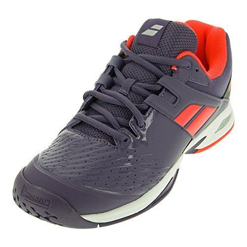 Babolat Junior All Court Tennis Shoe (4, Purple/Pink) (Court Iv Tennis Shoe)
