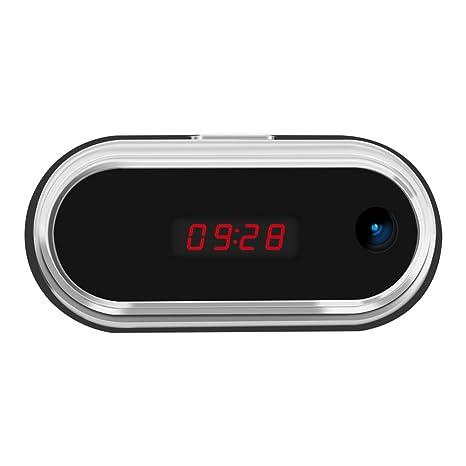 aisoul Wi-Fi cámara oculta Reloj despertador Full HD 1080p en tiempo real Video cámara