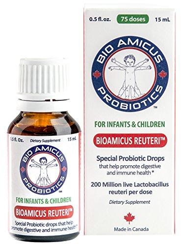 BioAmicus Reuteri - Infant & Toddler Probiotic Drops - 0.5 fl oz / 15ml