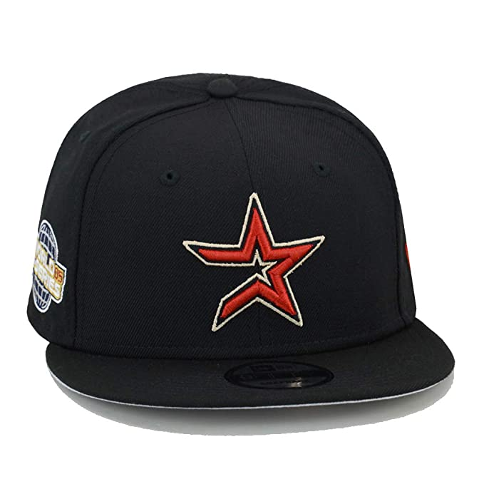 7044f23f5 New Era 9fifty Houston Astros Snapback Hat Cap 2005 World Series Side Patch