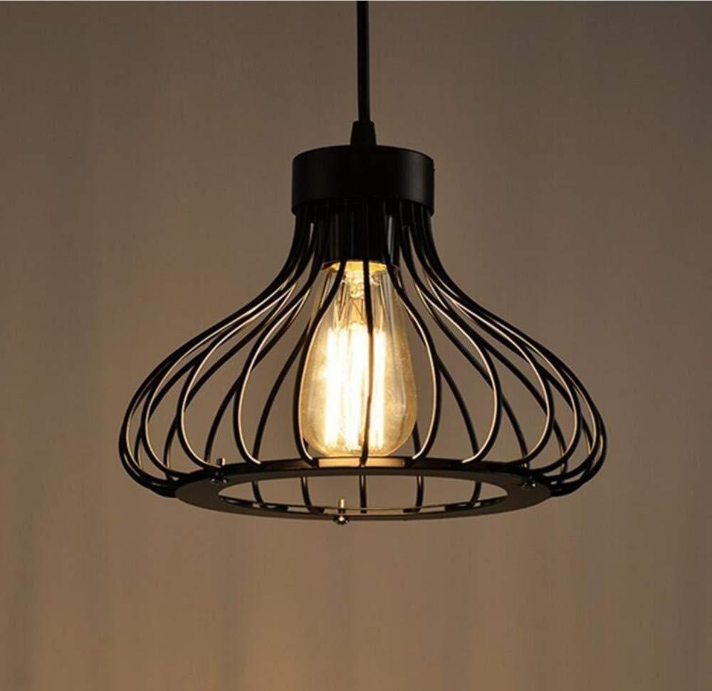 Wand Lampvintage Industrielle Metallkäfig Retro Pendelleuchte Deckenleuchte Perfekt Für Loft Bar Home E27 Basis