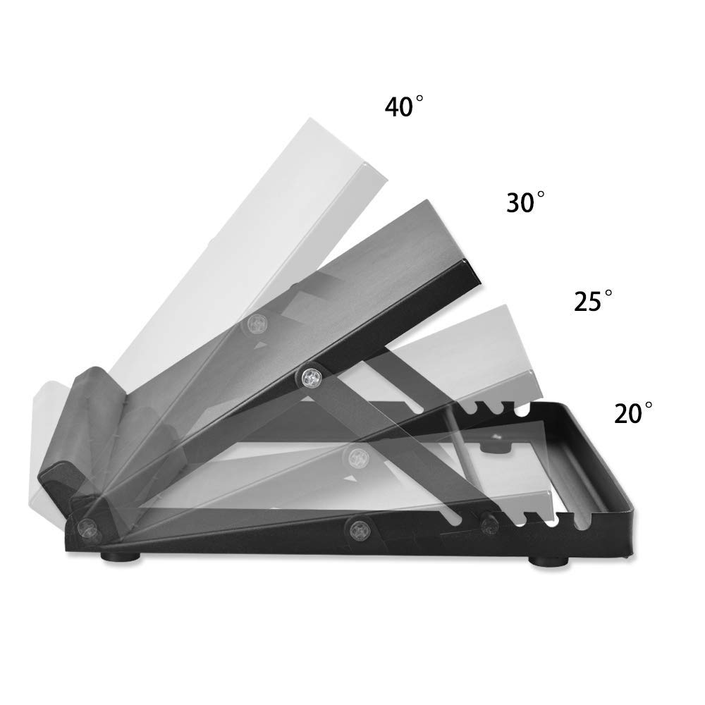 fasciite Plantaire 4 Positions Ajustables 16 x 13.5 HUKOER Slant Board Mollet inclin/é /étirement inclin/é Conseil Th/érapie Cheville Stretch Wedge Wedge Mollets Exercice Musculaire