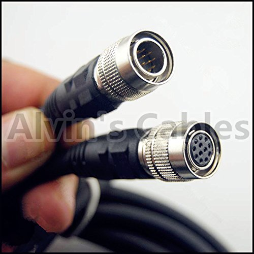 Coaxial 12 Pin Hirose Male to 12 pin Female Cable for Sony Camera Computer Network