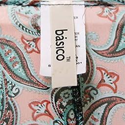 Basico Women\'s Open Asymmetrical Hem Print Chiffon Vest Cardigan (Large/ Xlarge, Cardigan #128)