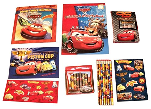 Disney Cars Activity Gift Set ~ Team 95 Celebration