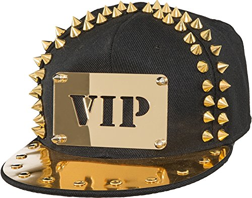 Mens Ladies VIP Plated Studded Baseball Cap Pop Star Retro Fancy Dress Costume Outfit Hat
