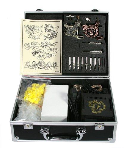Tattoo machine gun kit by jrfoto er02 tattoo kit business for Eyepower tattoo kit