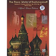 The Piano Works of Rachmaninoff, Vol 2: Etudes Tableaux, Op. 33 and Op. 39, Book and CD