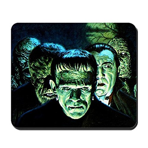 [CafePress Universal Monsters Mousepad - Standard] (Cute Halloween Gifts For Coworkers)