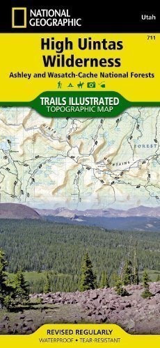 - High Uintas Wilderness Trails Illustrated Other Rec. Areas (National Geographic Maps: Trails Illustrated) Map Edition by National Geographic Maps published by NATIONAL GEOGRAPHIC MAPS DIVISION (2012)