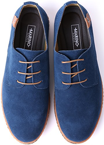 26dd8a09adb8c6 Jual Marino Suede Oxford Dress Shoes for Men - Business Casual Shoes ...