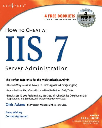 How to Cheat at IIS 7 Server Administration Pdf