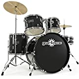 GD-2 Drum Kit by Gear4music Black