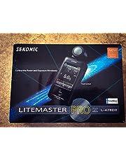 Sekonic Corporation 401-479 LITEMASTER PRO L-478DR Photographic Light Meter (Black)