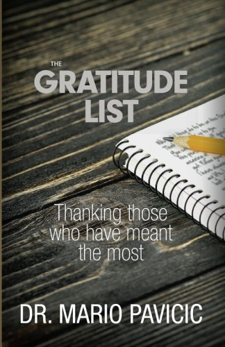 Download The Gratitude List: Thanking Those Who Have Meant The Most ebook
