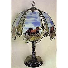 Horses Touch Lamp