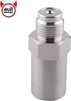 Evilenergy Diesel Fuel Rail Plug Pressure Relief Valve For 07.5-12 Dodge 6.7L