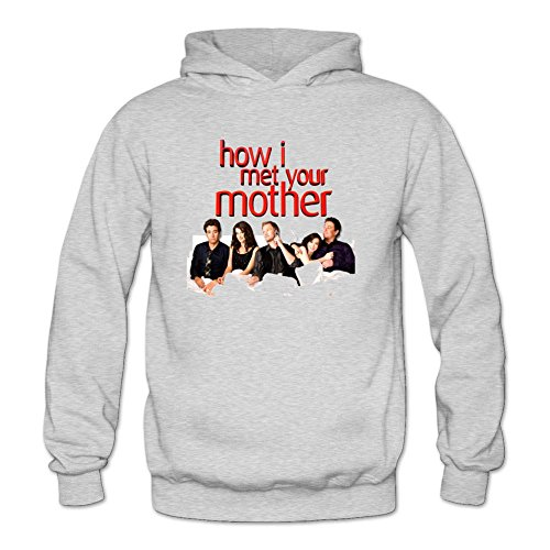 YYShirt Women's How I Met Your Mother Hoodie Sweatshirt X-Large Light Grey
