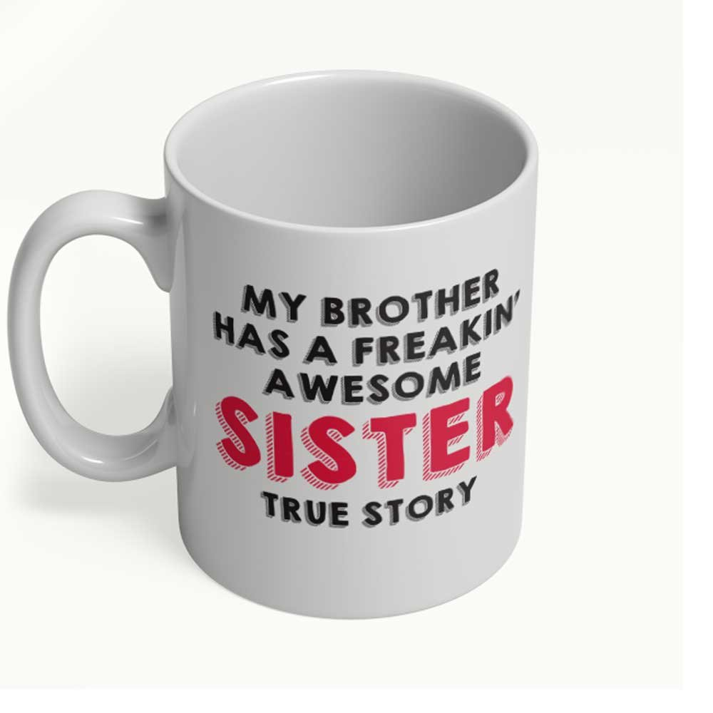 Amazon Funny Sister Brother Gifts