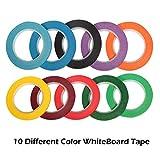 """Selizo 10 Pieces 1/8"""" Whiteboard Dry Erase"""