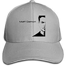 NUBIA Matt Damon Sunbonnet Cap Adjustable Cap RoyalBlue