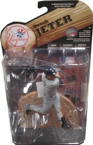 McFarlane Toys MLB Sports Picks Series 24 (2009 Wave 1) Action Figure Derek Jeter(New York Yankees) ()
