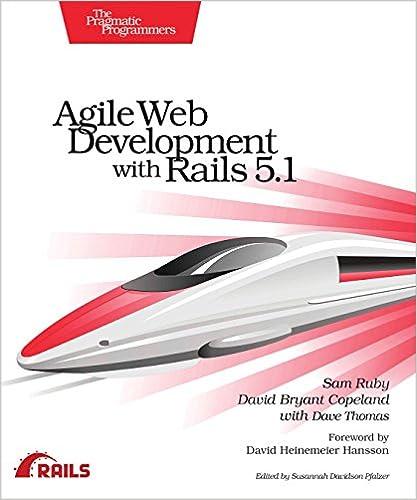 Agile web development with rails 51 sam ruby david b copeland agile web development with rails 51 sam ruby david b copeland dave thomas 9781680502510 amazon books fandeluxe Images