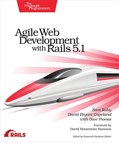 Agile Web Development with Rails 5.1 by Pragmatic Bookshelf