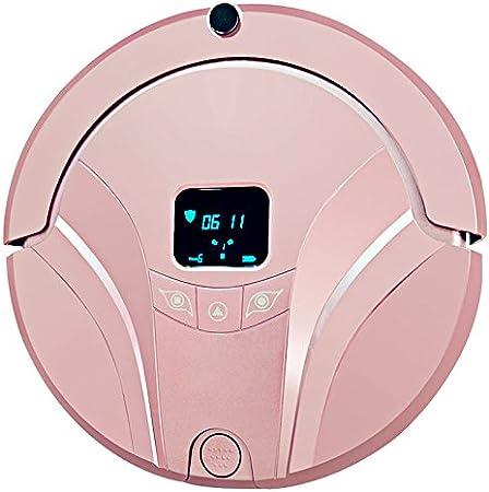 JJYJQR Robot Aspirador Wifi Teléfono Móvil Control Inteligente Robot Inteligente Vuelva Automáticamente Al Robot Aspirador De Carga Limpieza Regular, Rosa: Amazon.es: Hogar