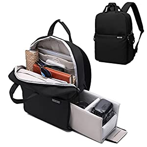 Camera Backpack DSLR/SLR Camera Bag Travel Outdoor Waterproof 14 inches Tablet Laptop Bag for Sony Canon Nikon