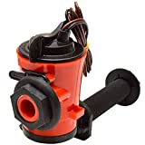 Johnson Boat Livewell Aerator Pump 3810 | SPX 1000 GPH 12v 90 Degree Inlet