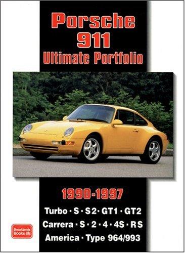Porsche 911 Ultimate Portfolio 1990-1997: Amazon.es: R. M. Clarke: Libros en idiomas extranjeros