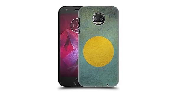 Amazon.com: Head Case Designs Palau Palauan Vintage Flags Set 2 Hard Back Case for Motorola Moto Z2 Force: Cell Phones & Accessories