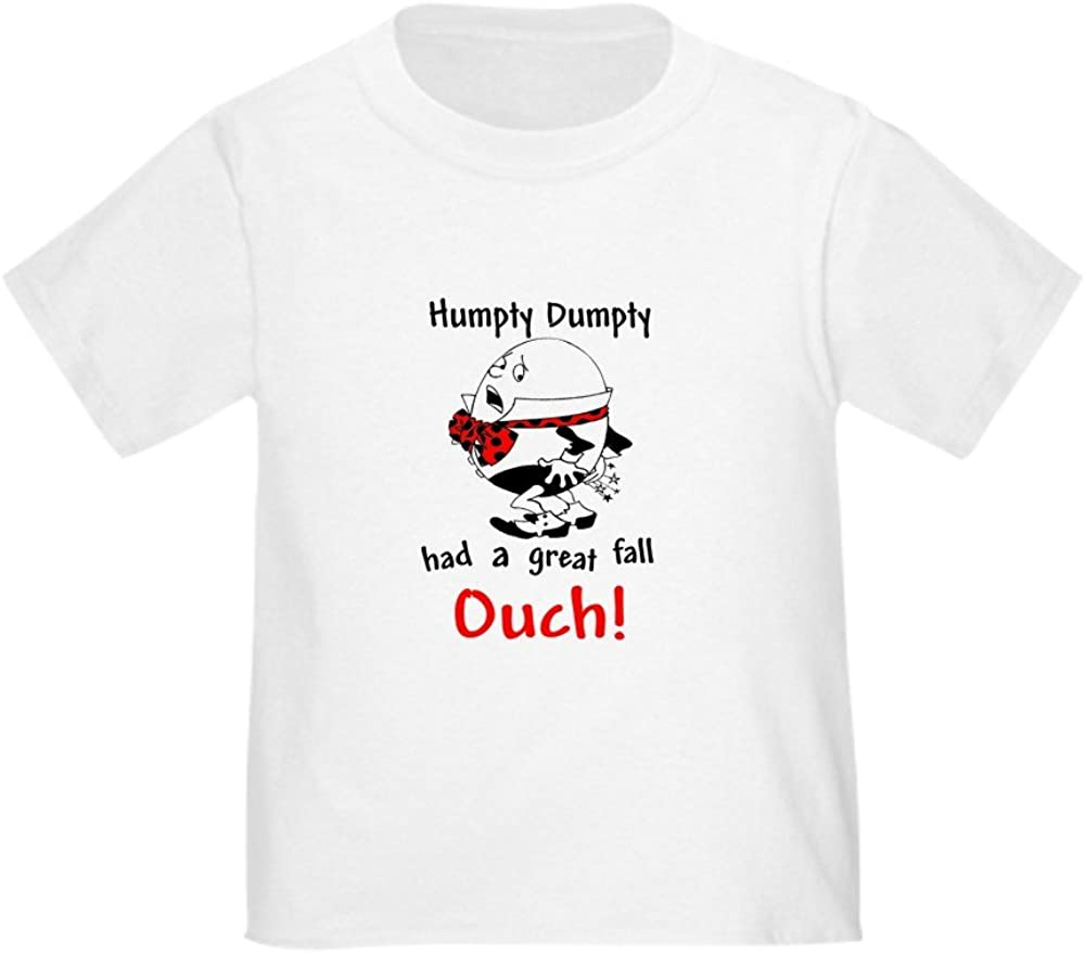 Humpty Dumpty OUCH Cute Toddler T-Shirt Baby// CafePress 100/% Cotton