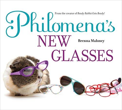 Philomena's New Glasses - New Glasses