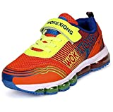 Zarbrina Sneakers for Girls and Boys Speed Air Cushion Boys Velcro School Sneakers (Little Kid/Big Kid)