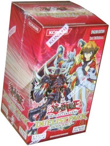 Yugioh GX Duelist Pack JADEN YUKI 1 booster pack unlimited edition
