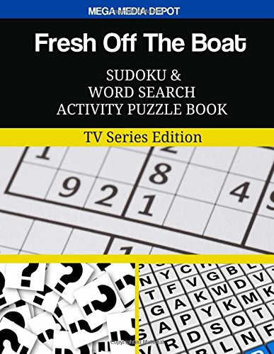 Fresh Off The Boat Sudoku and Word Search Activity Puzzle