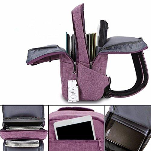 Femme Main violet Dos Sac pour au à Violet Violet porté BMKWSG qwSTafn