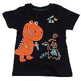 "[Baby House] ""dinosaur"" boys short sleve T-shirt 100% Cotton size18MOS-6T"