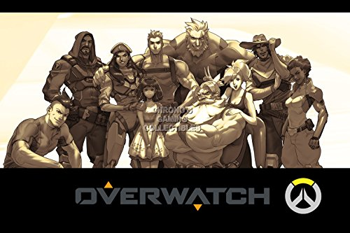 """Price comparison product image CGC Huge Poster GLOSSY FINISH - Overwatch PS4 XBOX ONE - EXT541 (16"""" x 24"""" (41cm x 61cm))"""