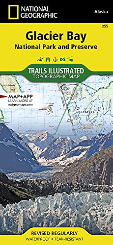 Glacier Bay National Park and Preserve (National Geographic Trails Illustrated Map)