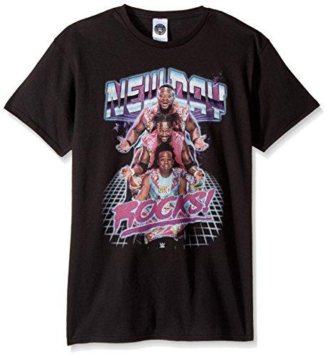 WWE Men's New Day Rocks T-Shirt, Black, L by WWE