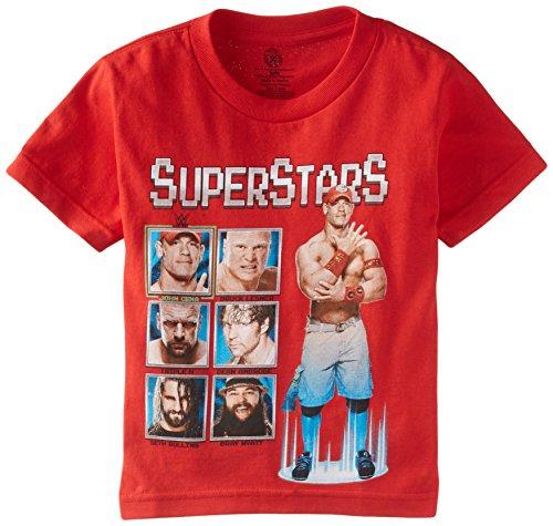 WWE Boys Swim Trunks Swimwear Little Kid//Big Kid Black//Red Dreamwave