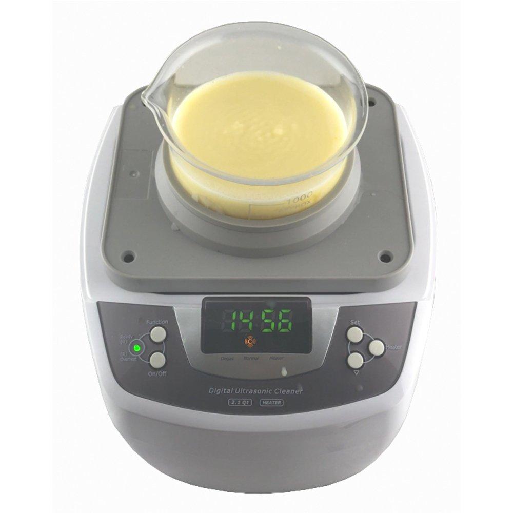 iSonic Ultrasonic Cleaner P4810, 2.1Qt/2 L, with 1000 ml Single Beaker Holder Set for DIY Liposomal Vitamin C by iSonic (Image #5)