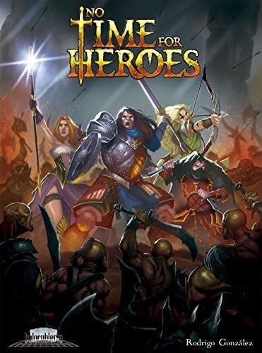 No Time For Heroes- Juego de mesa (Holocubierta HOLNTH01) , color/modelo surtido: Amazon.es: Juguetes y juegos