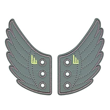 911f849851 Buy The Original Shwings  Fly Your True Colors - Reflective Grey Shoe Wings  (12202N) Online at Low Prices in India - Amazon.in