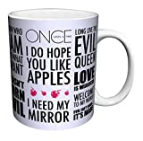 Once Upon a Time Evil Queen Regina Quotes Fantasy Drama Fairy Tale TV Television Show Ceramic Gift Coffee (Tea, Cocoa) 11 Oz. Mug