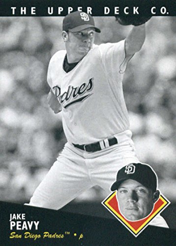 Baseball MLB 2008 Upper Deck Timeline #137 Jake Peavy Padres