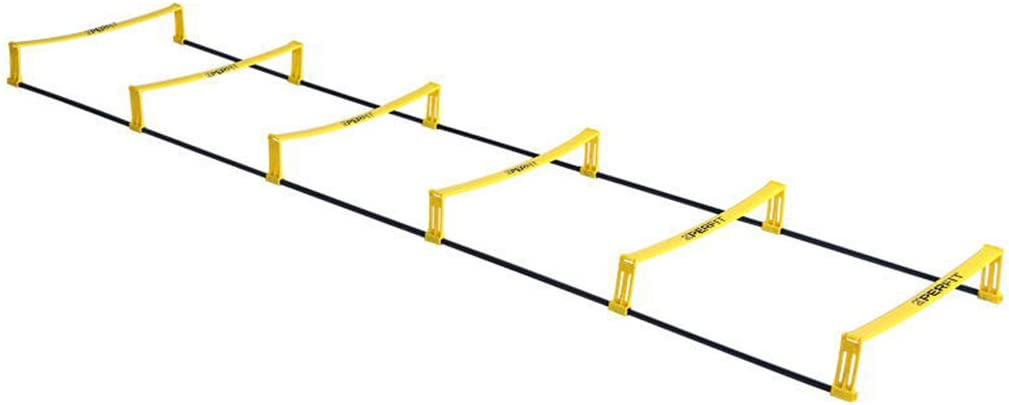 Jackys Doble finalidad Escalera de Agilidad Velocidad para niños y Adultos, Ajustable Escalera de Formación de Velocidad, Equipo de fútbol de Entrenamiento,4.7M: Amazon.es: Hogar